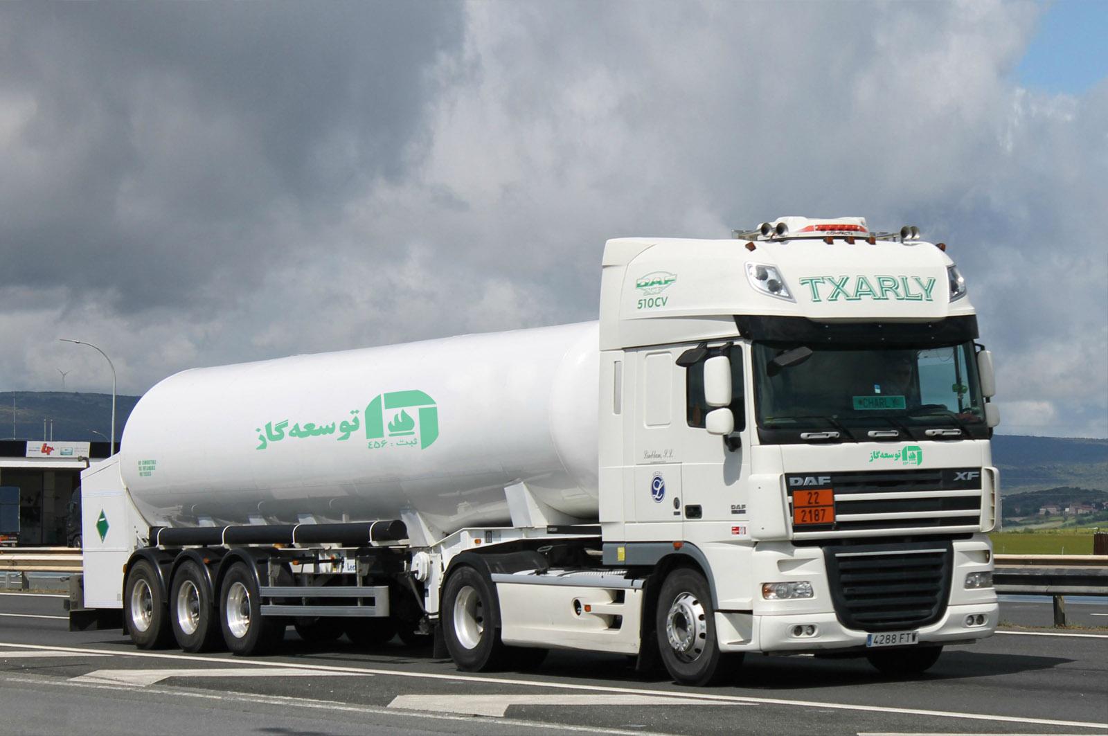 حمل و نقل مایعات گازی فوق سرد